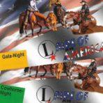 VIP-Eintrittskarten Gold: Cutting/Cowhorse und Gala Night inkl. Menü